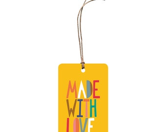 Gift Tag – Made with Love.