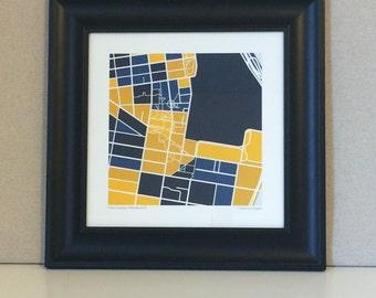 Drexel University Map Print