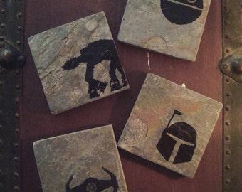 Star Wars Coasters - Set of 4