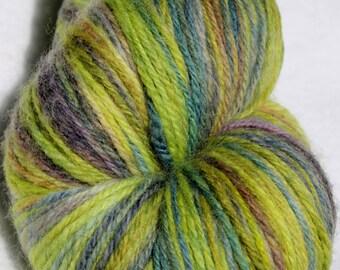 Superwash Merino Handspun yarn Sport apx 435 yards