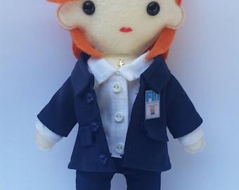 X-Files Dana Scully Plush
