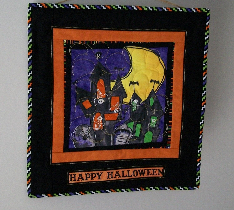 Halloween door hanging haunted spook house by ExpressionQuil ~ 230255_Halloween Door Hanging