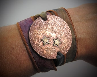 Tiny Stars Wrap Bracelet