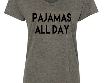 Pajamas All Day Alternative Kimber Burnout Tee Womens Sizes S-L
