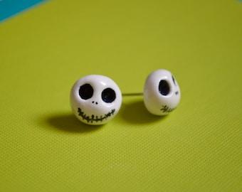 Jack Skellington Stud Earrings