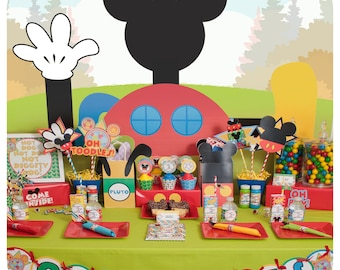 Mickey Mouse; Mickey Mouse Party; Mickey Mouse Clubhouse Birthday Party;  Mickey Mouse Birthday; Mickey Mouse Clubhouse Birthday Party