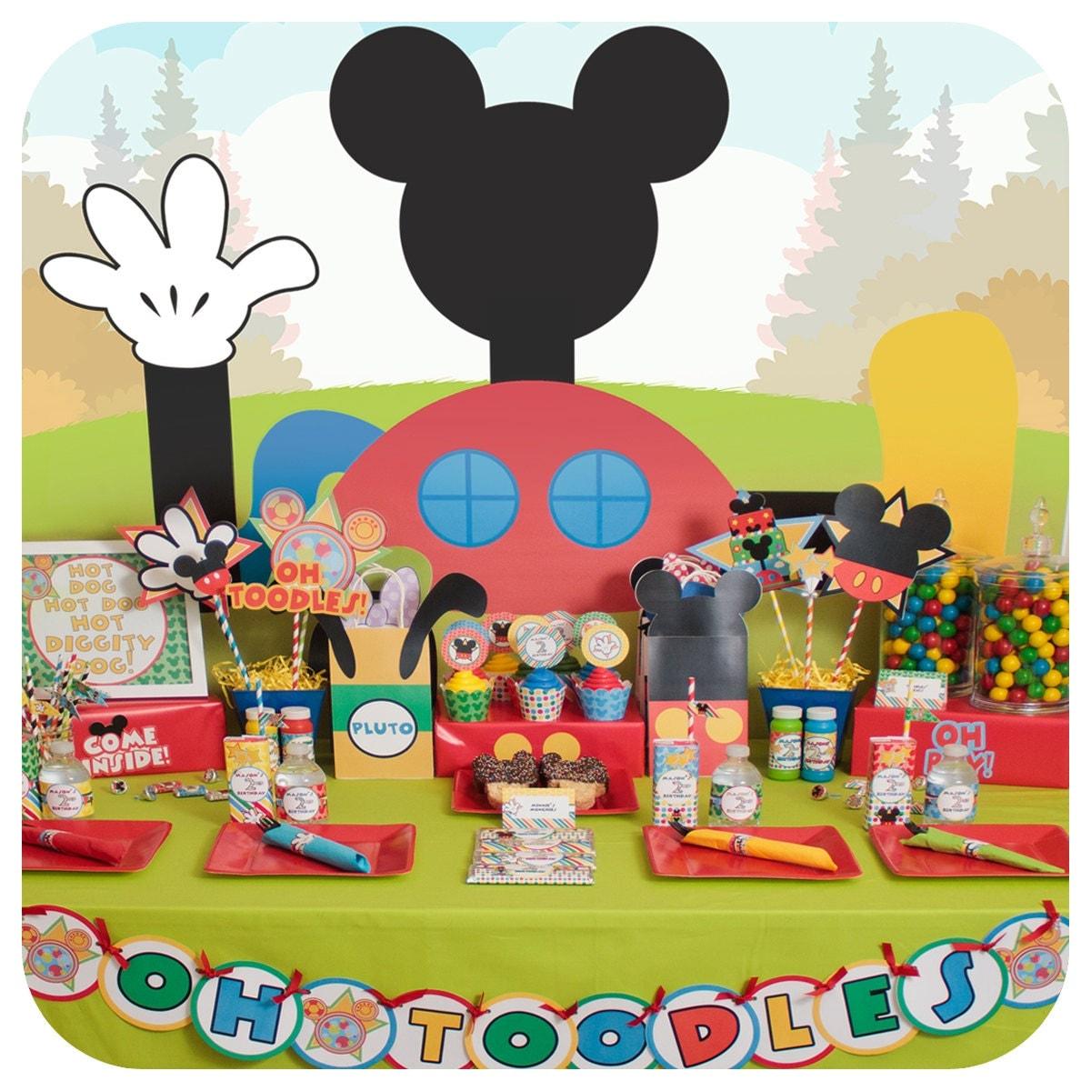 Mickey Mouse Mickey Mouse Party Mickey Mouse Clubhouse