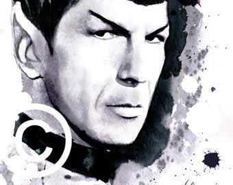 Spock -Star Trek- Wall Art