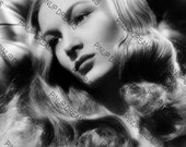"Veronica Lake Wall Art Print of The Hollywood Movie Legends Vintage A4 (11.7"" x 8.3"")"