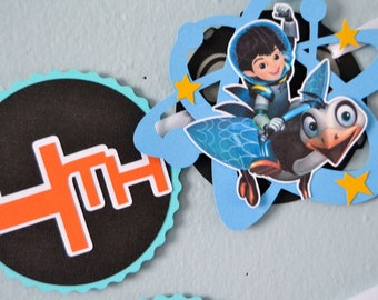 Space Themed Birthday Banner, Miles from Tomorrowland