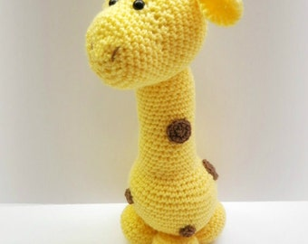 Crochet Long Neck Giraffe