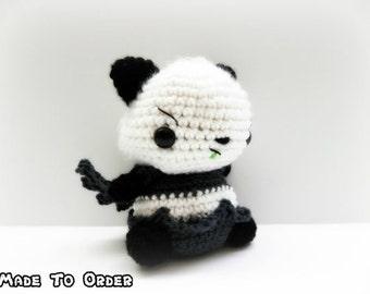 Crochet Pangoro Inspired Chibi Pokemon