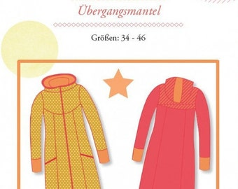 "Mialuna pattern transition coat ""Lady Shiva"""
