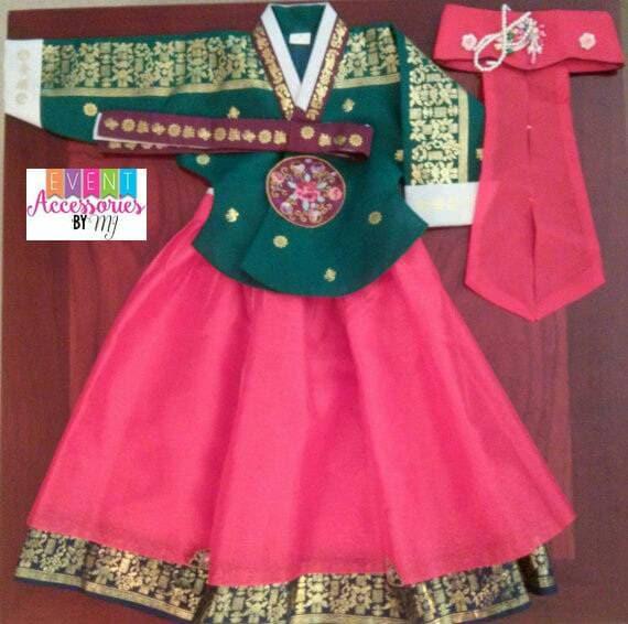 Traditional Girl's Hanbok (Dol Hanbok