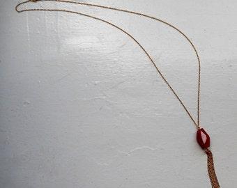 Tassel Rock Necklace