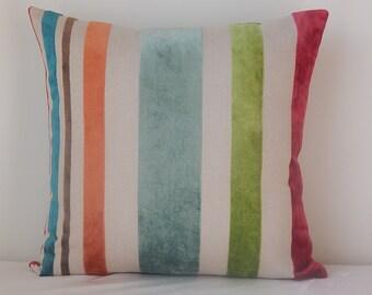 Tellers Stripe fabric,Design by Lee Jofa,16x16-18x18-19x19, pillow, pillow cover, throw pillow, decorative pillow.