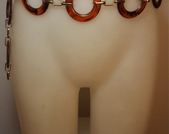 FREE  SHIPPING   1970 Lucite  Belt