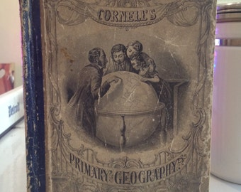 Antique New Edition Cornell's Primary Geography
