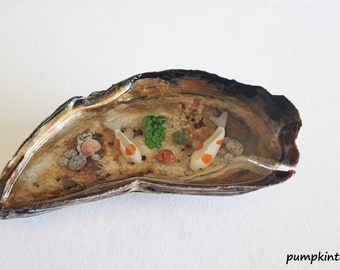 Miniature Sea Shell Aquarium