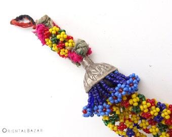 Tibetan Beaded Tassel Boho Decor Door Knob Boho Home Gypsy