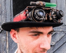 Steampunk cosplay copper goggles