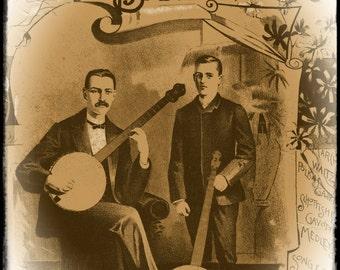 Hamiltons Banjo Folio ebook pdf 1890 antique music book for banjo and piano