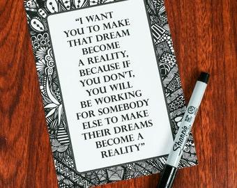 Zentangle - Dream Become a Reality