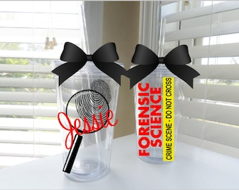 Forensic Science tumbler - available in 3 sizes