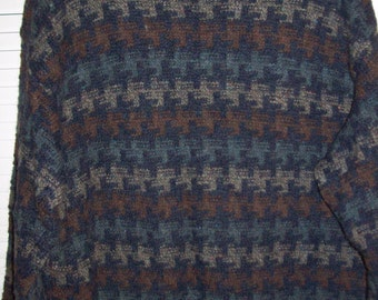 Vintage Orvis Wool Warm Classic Knitted Pullover  sweater(Put this one away for winter, yes.) Large