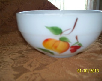 Vintage Fire King Gay Fad Mixing Bowl