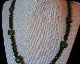 Olivine Dance Necklace