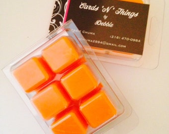 Highly fragrant soy wax melts
