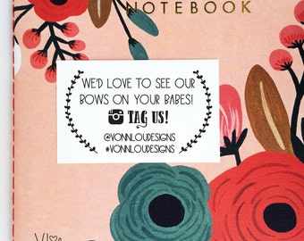 custom business stamp - no. 1 - custom rubber stamp - hand illustrated laurel wreath - personalized - advertising - stationery