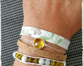"Liberty multi-strand bracelet ""I came for it"""