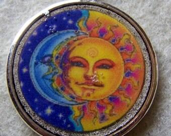 Sun/Moon Pendant