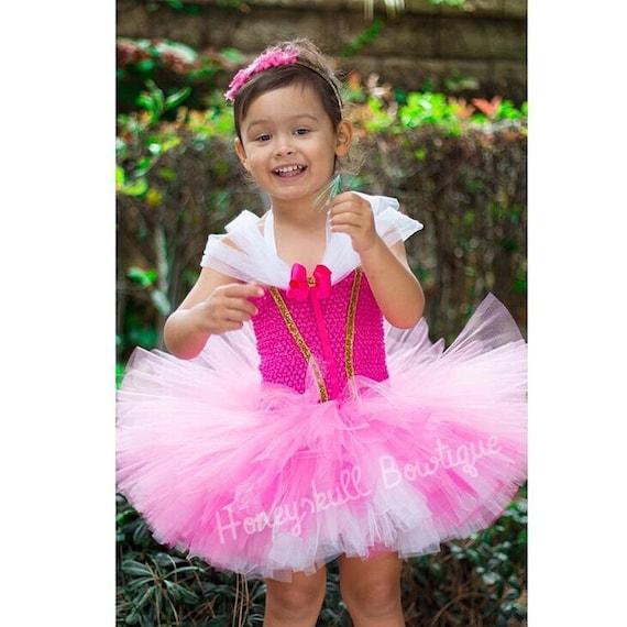 Pink princess tutu dress princess dress princess costume princess