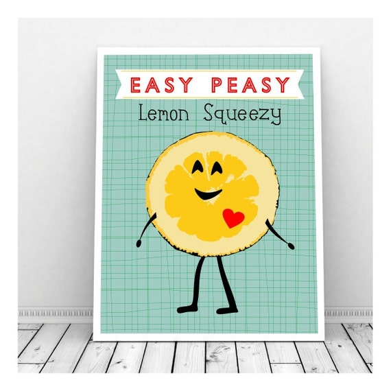 Easy Peasy Lemon Squeezy Гјbersetzung