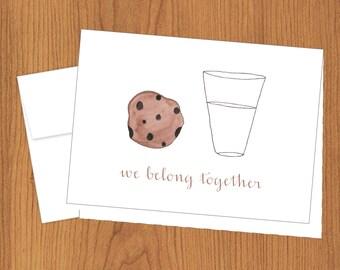 We Belong Together Cards - Funny Cards - 4bar