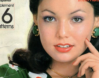 Vintage 1970s Dressmaking International Quarterly Fashion Magazine No. 49 -Vol. 13 No. 4 1973 Pattern Drafting Japanese Magazine