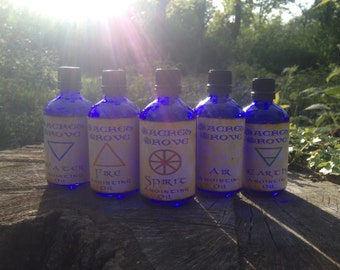 Elemental Oil - Sold Seperately Or As A Set - Anointing Oil Large 50ml (1.75oz)  Bottle Pagan /Wiccan/ Witchcraft /Witch