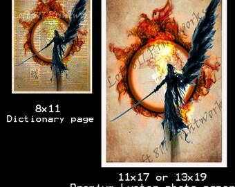 Final Fantasy VII Sephiroth - Advent Children - Final Fantasy VII - Videogame art print