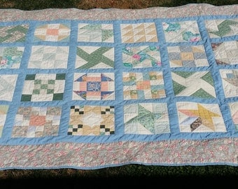 Gently Used, Queen Size Sampler Quilt
