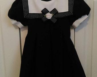 Toddler Girls Nautical Style Dress