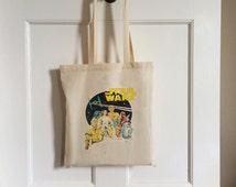Vintage Style Star Wars Tote Bag