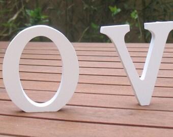 Letter wood LOVE