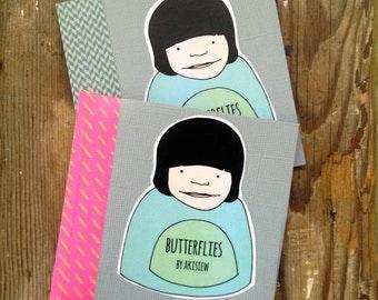 Flip Book Zine - 'Butterflies'