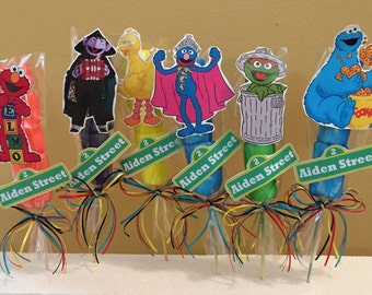 Sesame Street Marshmallow Party Favors