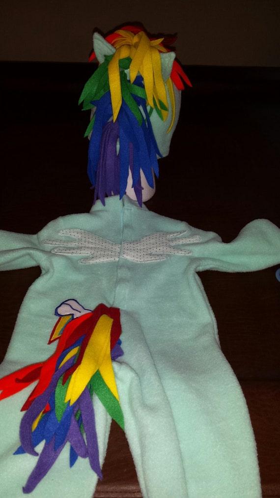 Rainbow Dash Costume My Little Pony Costume Rainbow por TerriLeeCNS