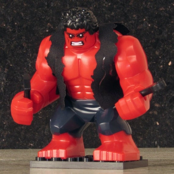 lego marvel avengers how to get red she hulk