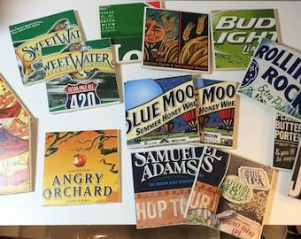 Coasters, Beer Coasters,Ceramic Beer Coasters, Coasters Set of 4
